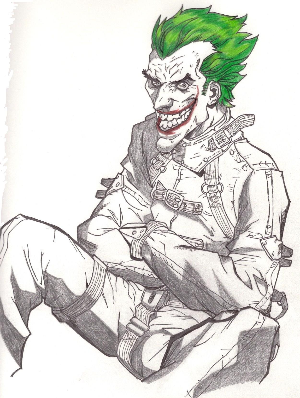 1251x1661 Straight Jacket Joker By Masterdrawer