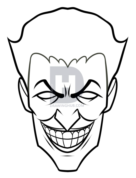 Jokers Faces Drawing At Getdrawings Com Free For Personal Use
