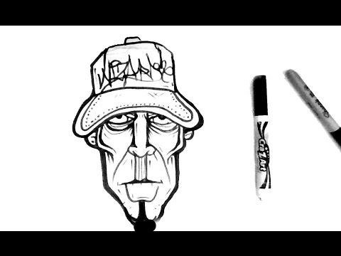 480x360 Como Dibujar Un Pesonaje De Graffiti Paso Paso How To Draw