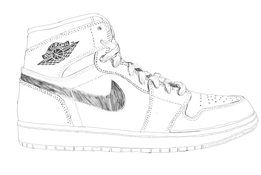 530x355 Part 1 Of This Sneaker Illustration
