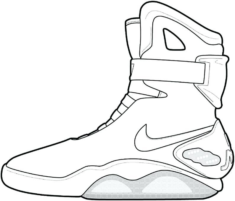 794x677 Reebok Shoes Coloring Pages Air Jordan Coloring Pages