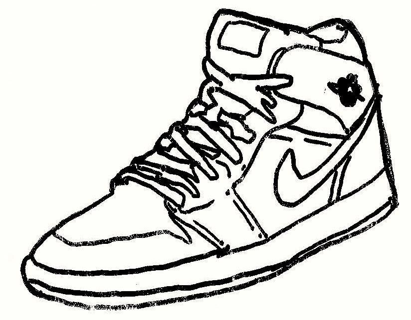 824x643 Air Jordan 1 (Sketch) By Bi9mik3