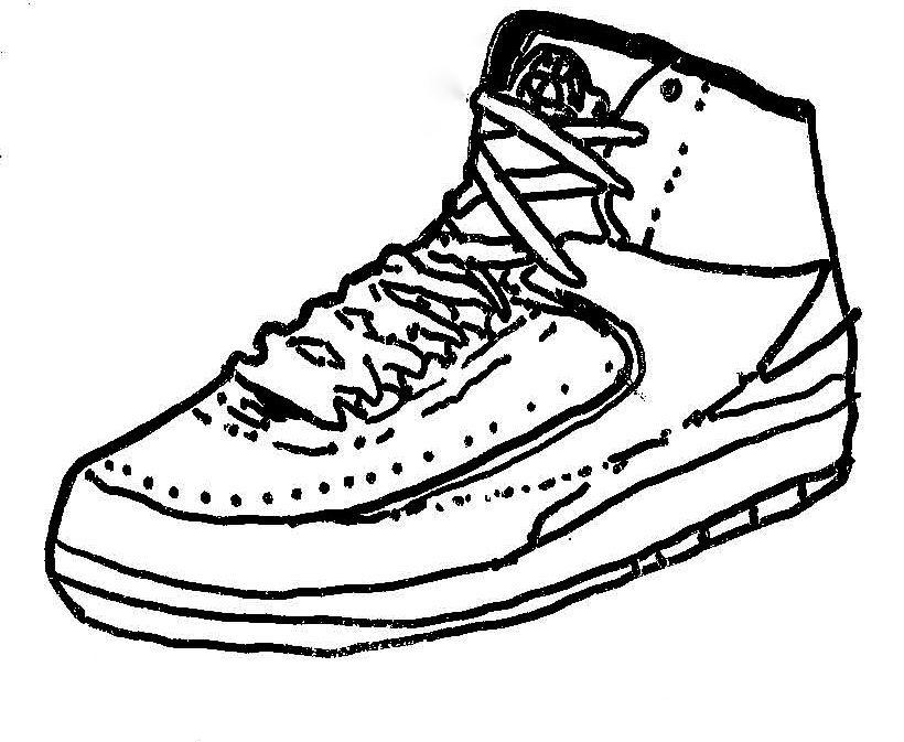 820x673 Air Jordan 2 Drawing Number Six Sneakersale