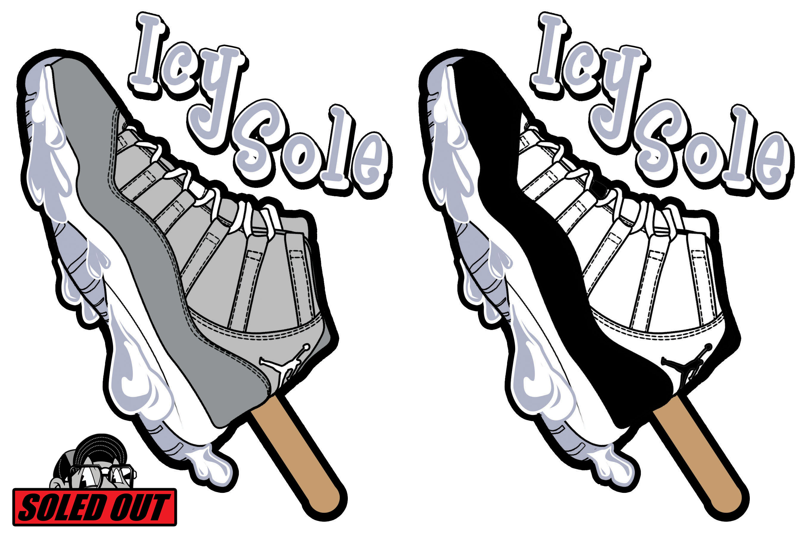 2700x1800 Icy Sole Collections Jordan 11 Cool Gray Amp Concord Soled Out!