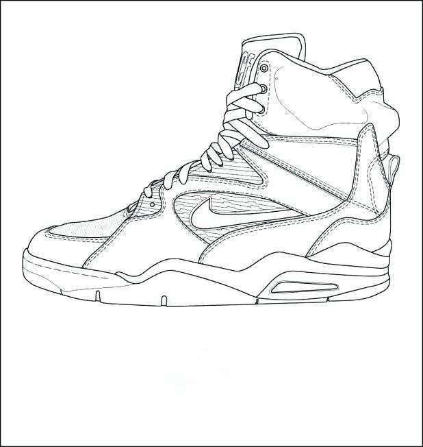 618x652 Jordan Coloring Sheets Lovable Coloring Pages Shoes Jordan 11 Low