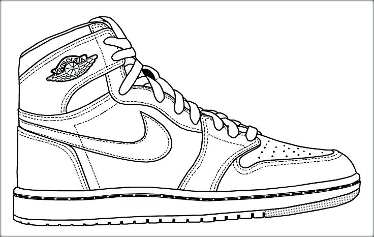 736x466 jordan coloring pages shoes coloring pages shoes 6 coloring pages - Jordan 6 Coloring Page