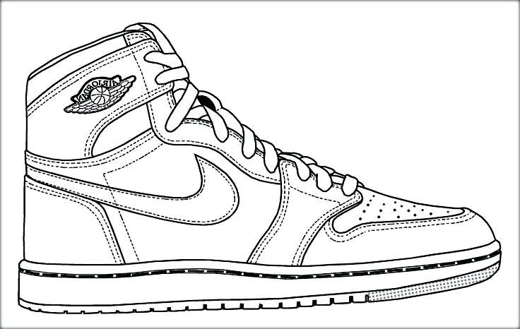 Jordan 6 Drawing at GetDrawings   Free download