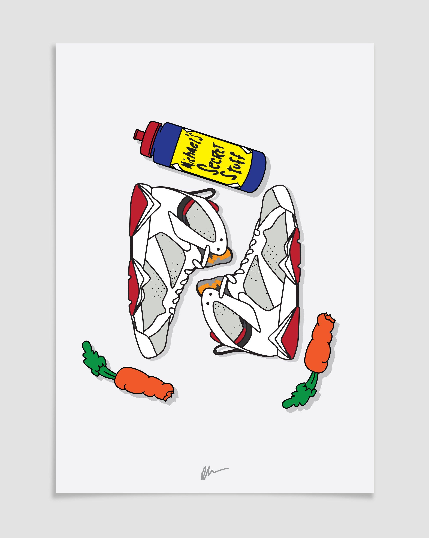 2432x3046 Kick Posters Hare Jordan 7