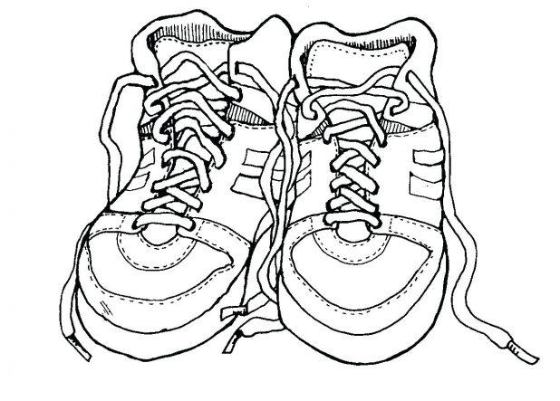 618x443 Coloring Interesting Jordan Shoes Coloring Pages. Jordans Shoes