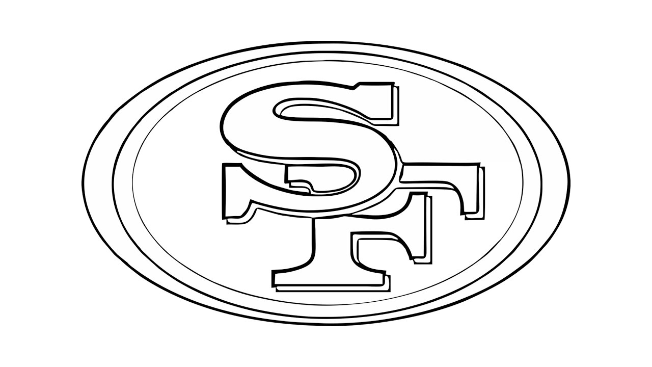1280x720 How To Draw The San Francisco 49ers Logo (Nfl)