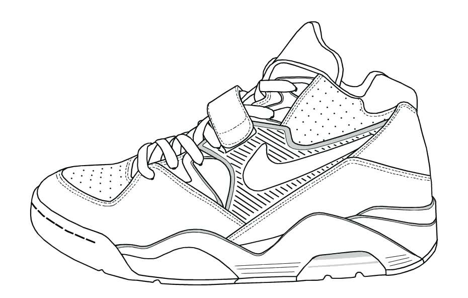 930x592 Jordan Shoe Coloring Pages Online Basketball Shoe Coloring Book