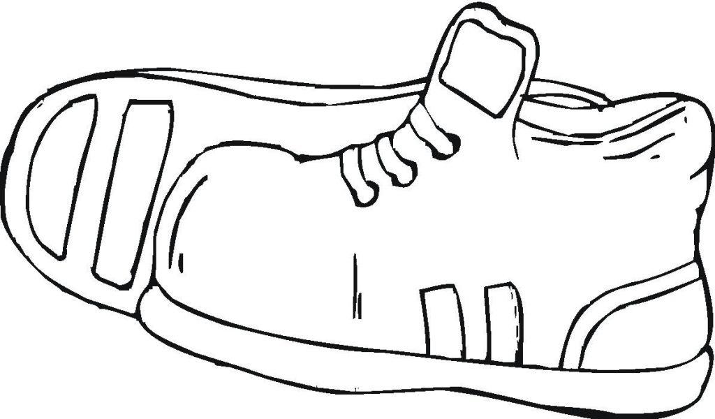 1024x600 Jordan Sneakers Printable Clipart