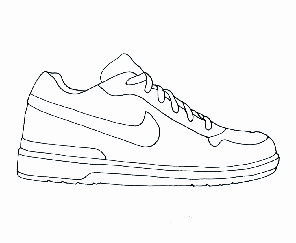 Jordan Shoes Drawing at GetDrawings.com | Free for personal use .