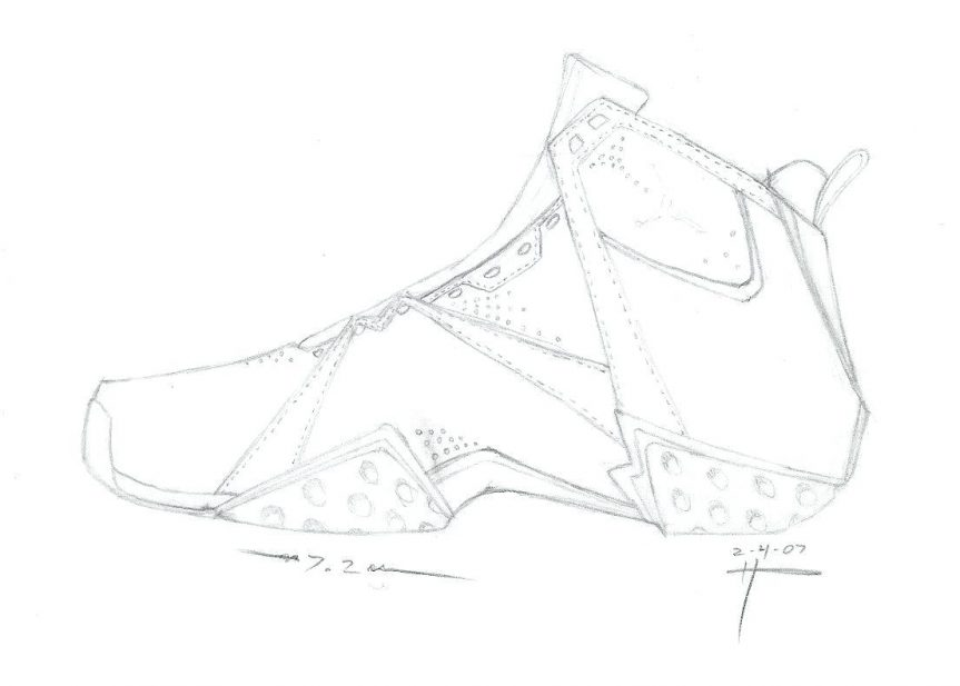 863x617 Sneakers Coloring Page Free Printable Pages And Jordan Shoe Online