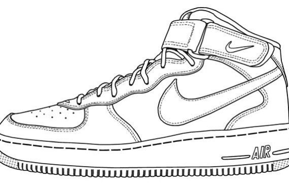 570x363 Air Force 1 Jordans To Draw Slocog