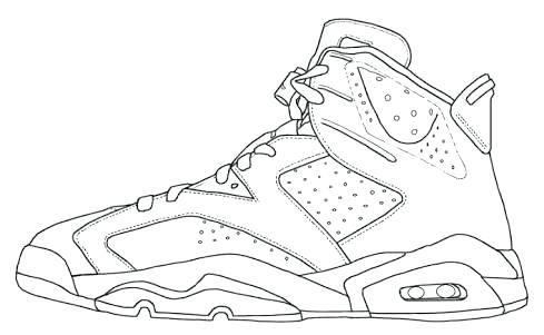 489x301 Drawn Shoe Jordan 3 Many Interesting Cliparts