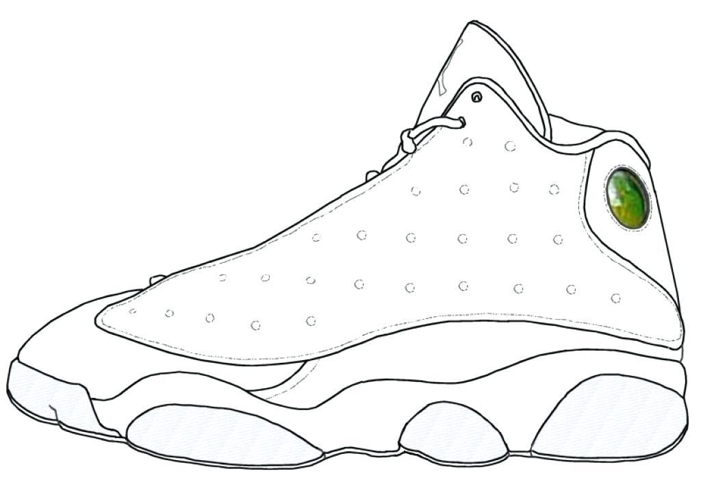 1024x704 Jordan Shoes Coloring Pages Pin Drawn Shoe Coloring Sheet 1