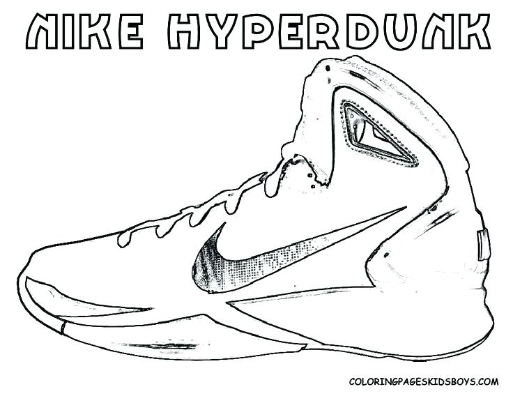 736x568 Jordan Shoes Coloring Sheets Drawn Sneakers Coloring Page 2
