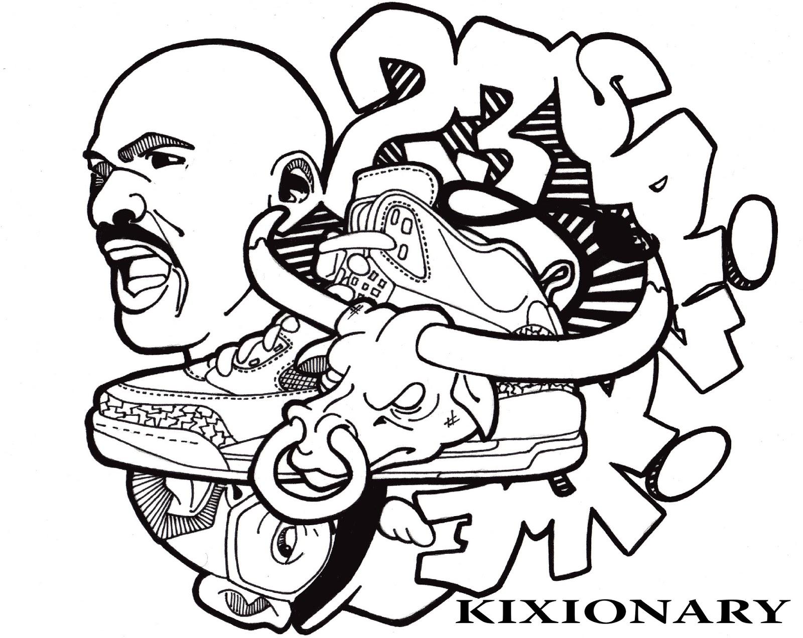 1600x1272 Jordan 14 Drawing