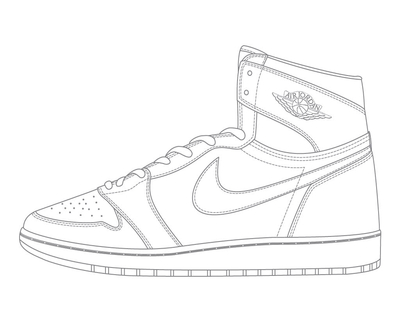 400x322 Concord Jordan 11 Coloring Pages Page Image Clipart Images