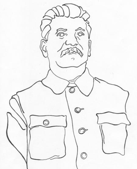 450x557 Joseph Stalin By Wallflower Studios