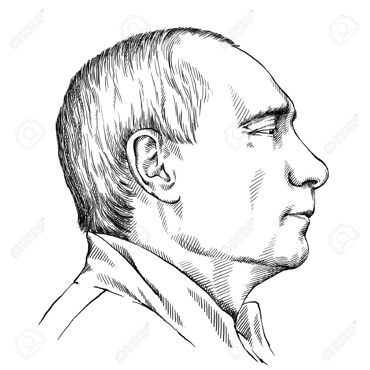 1300x1300 March 16 2015 Illustration Of President Vladimir Putin Portrait