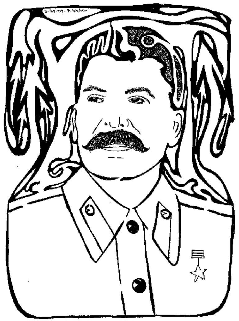 770x1033 Saatchi Art Maze Of Joseph Stalin By Yonatan Frimer
