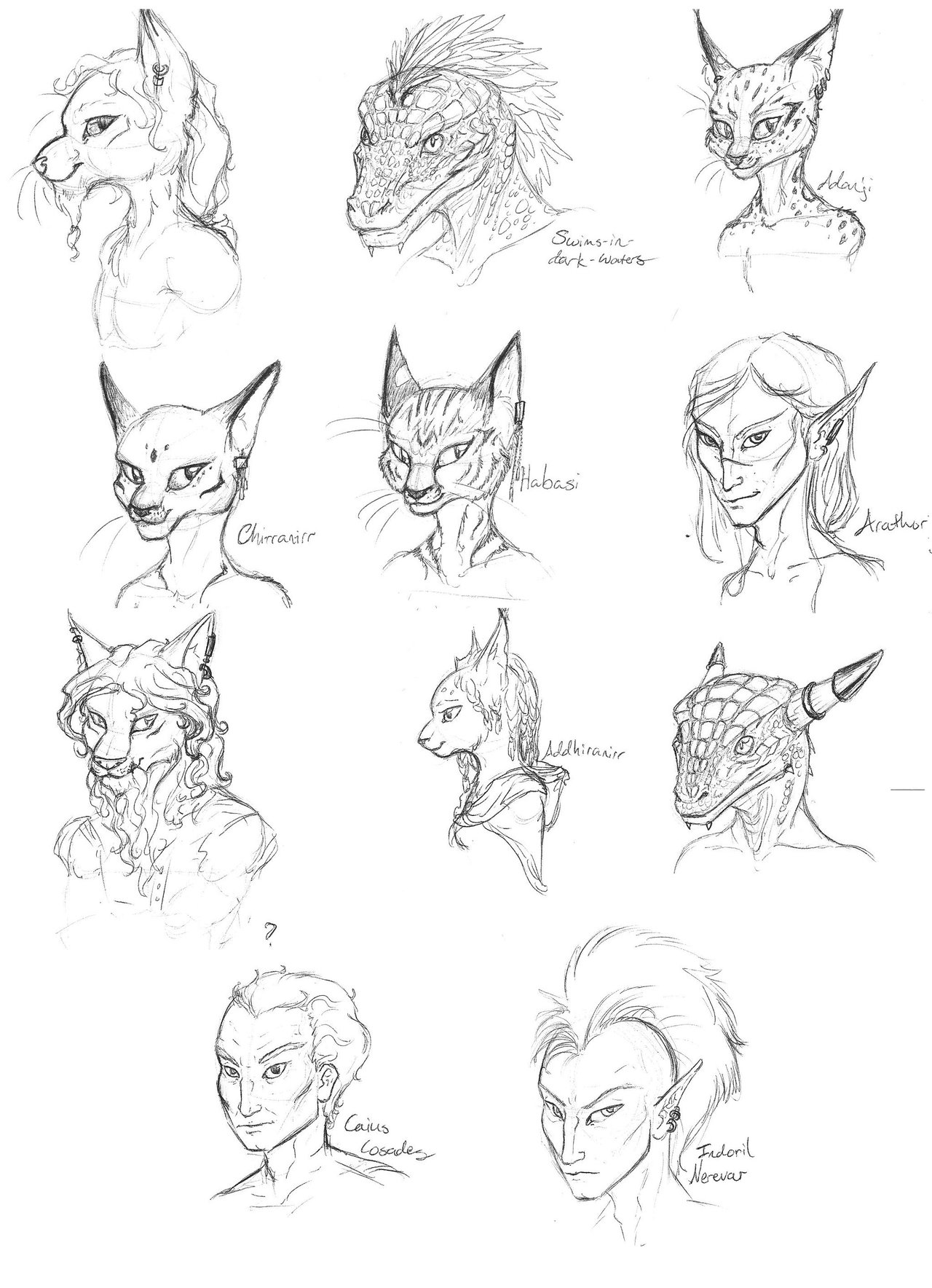 1280x1768 Morrowind Journey To The East Characters Dump By Mtibbs 89
