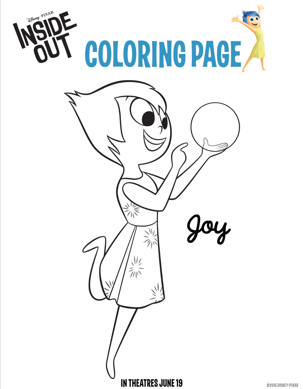 1020x1310 Fun And Free Inside Out Coloring Pages