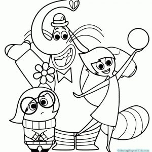 300x300 Inside Out Coloring Pages Joy Archives