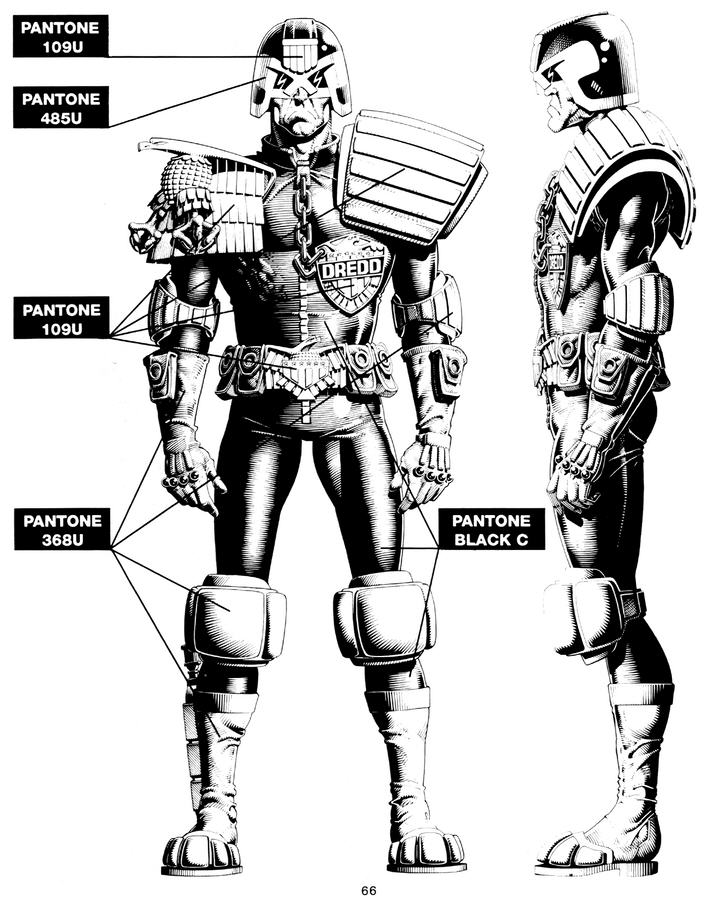 707x900 How To Draw Judge Dredd Everything Comes Back To 2000ad