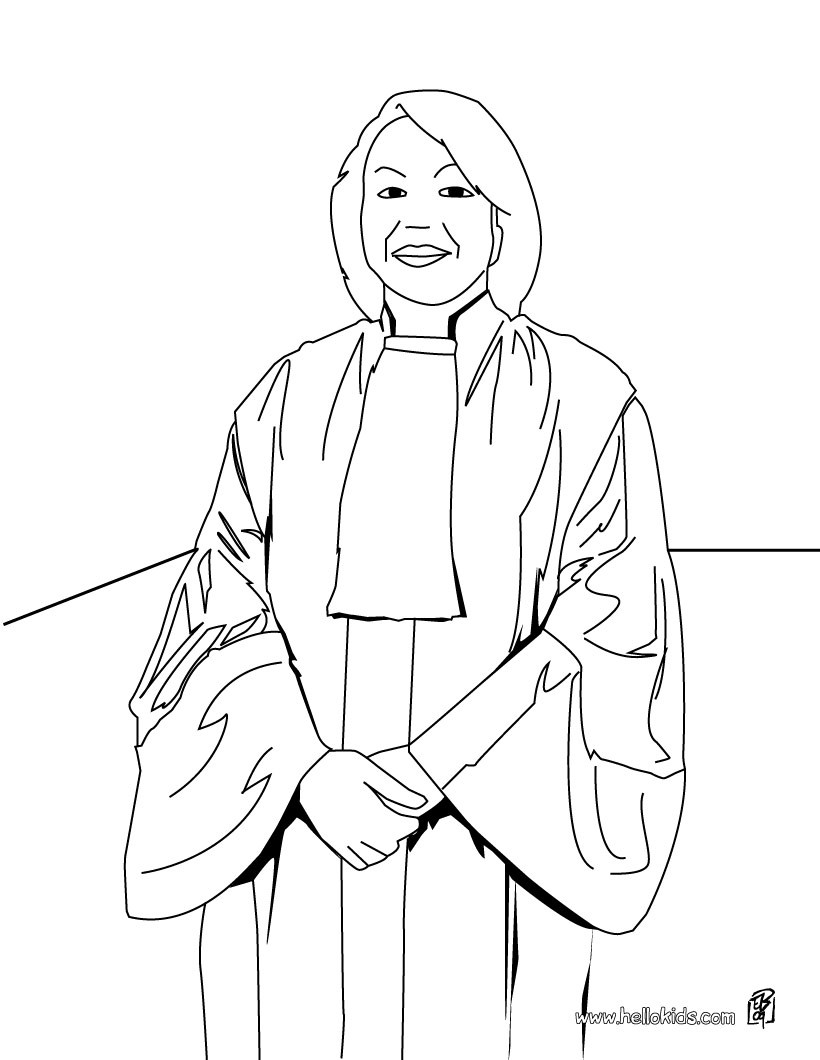 820x1060 Judge Coloring Page Offer You Nice Lawyer Coloring Pages