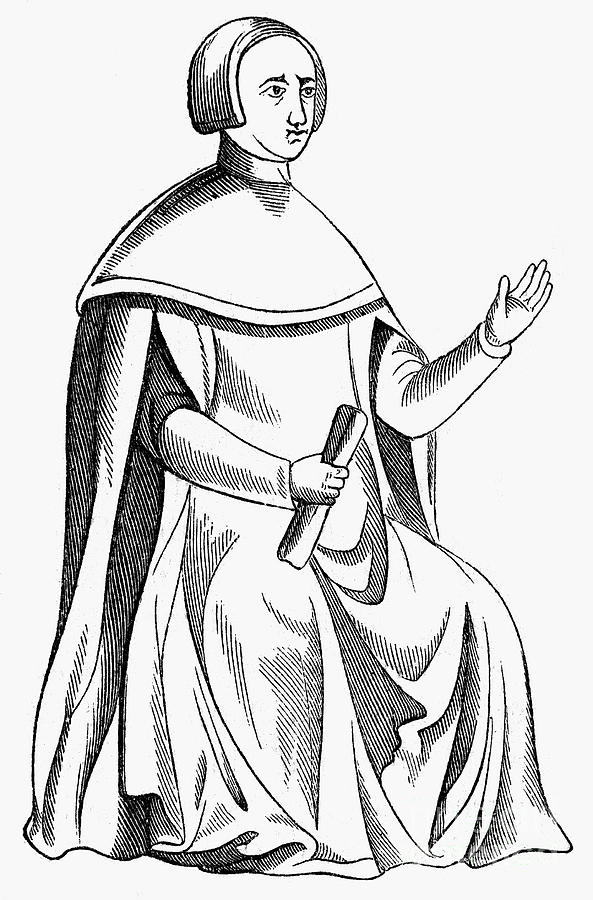 593x900 Medieval Judge Photograph By Granger