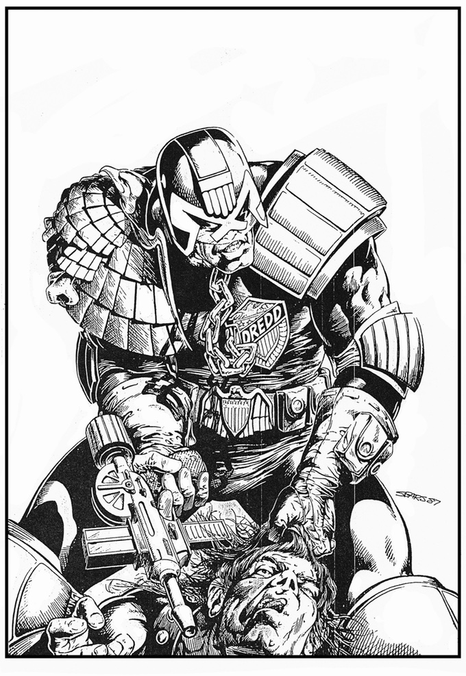 680x987 Bart Sears' Drawing Powerful Heroes Brutes Amp Babes Indiegogo