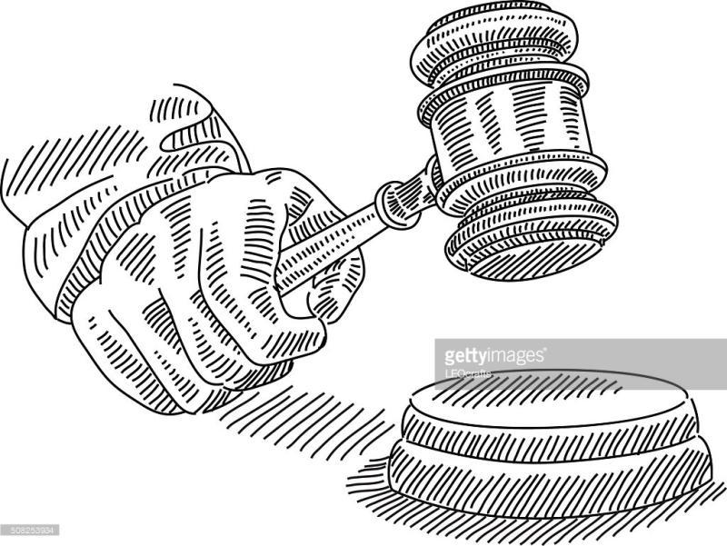 800x601 Judge Mallet Clipart