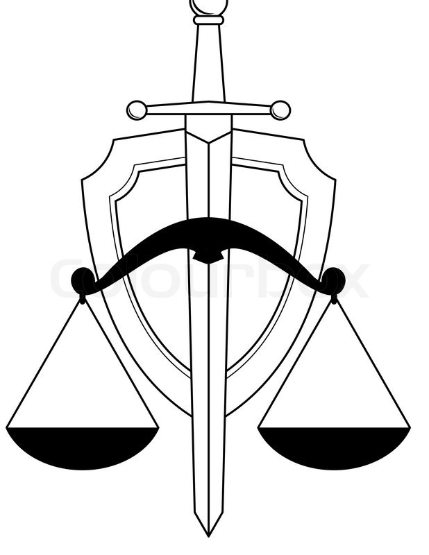 618x800 Gavel (Hammer, Anvil) And Scales. Symbols Of Justice And Low