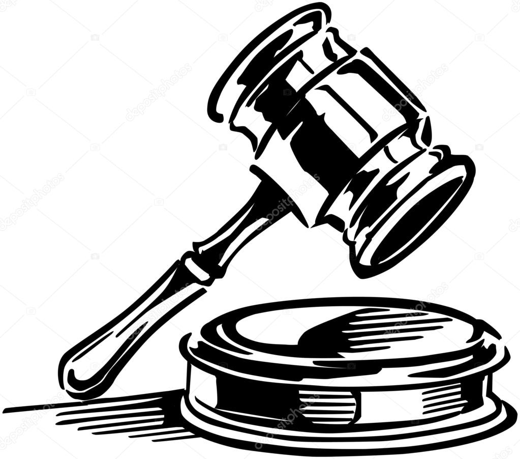 1023x902 Retro Gavel Stock Vector Retroclipart