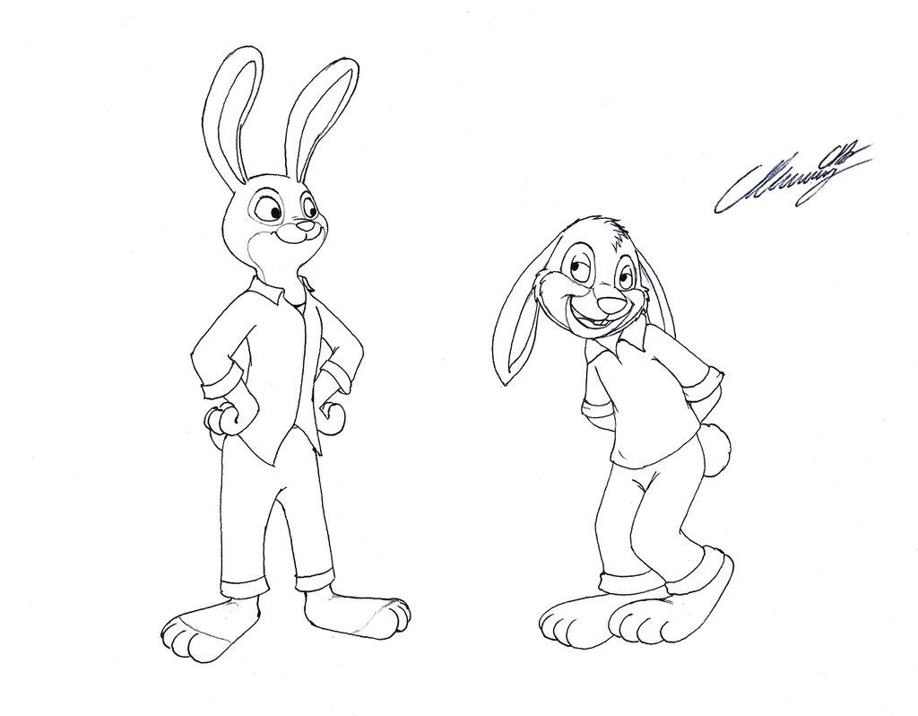1024x798 The Brer' Rabbit Meets Judy Hopps By Markdekabreak
