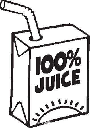 316x450 Juice Clipart Black And White Letters Format