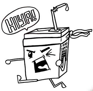 320x313 P.gomez's Doodles And Sketches Juice Box Ninja