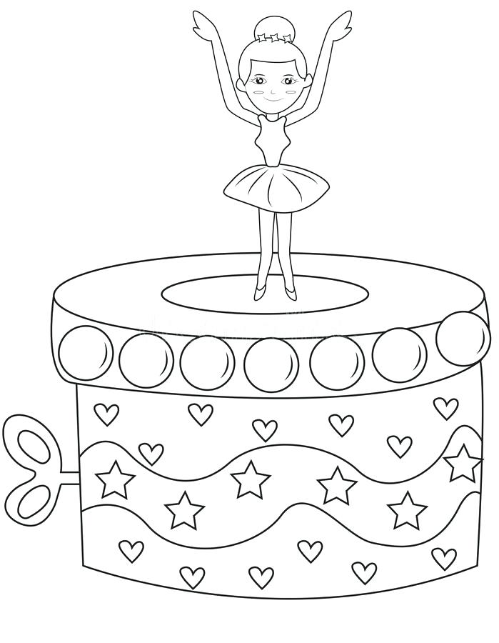 699x900 Box Coloring Page Vector Of A Cartoon Box Coloring Page Outline