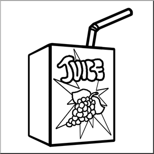 304x304 Clip Art Juice Bampw I Abcteach