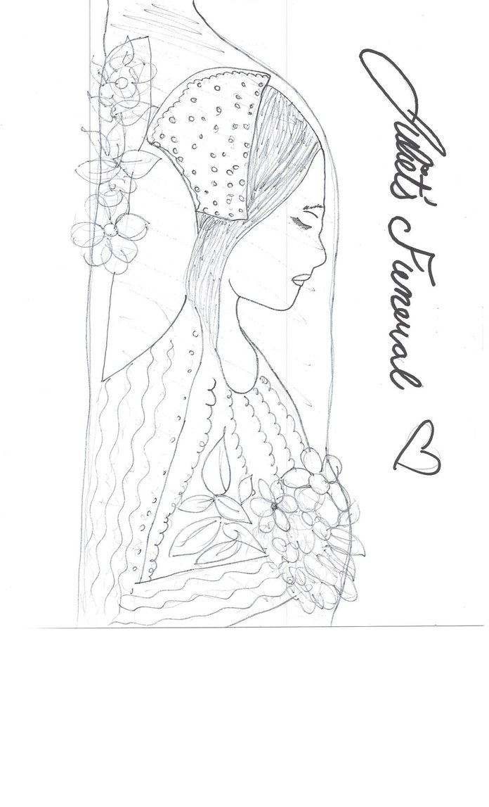696x1147 Juliet#39s Funeral Drawing by julietcapulet432 on DeviantArt