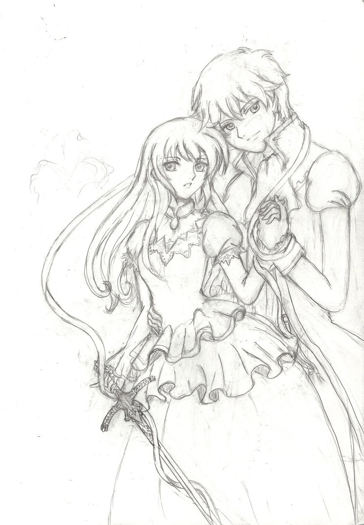 744x1074 Romeo x Juliet sketch by 6wendybird91 on DeviantArt