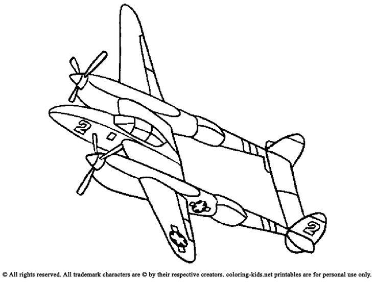 Jumbo Jet Drawing