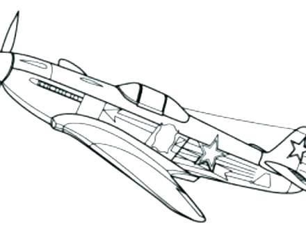 440x330 Fighter Jet Coloring Pages Army Jet Coloring Pages Plane Printable