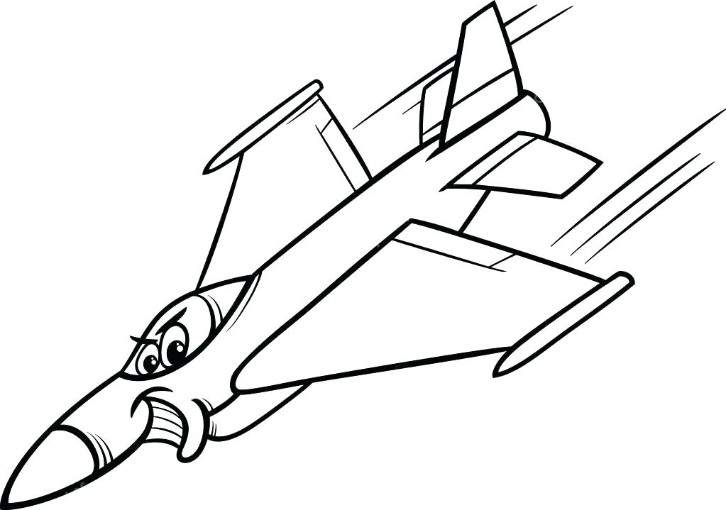 1023x719 Good Jet Coloring Pages Online