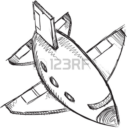 447x450 Jumbo Jet Vector Illustration Royalty Free Cliparts, Vectors,