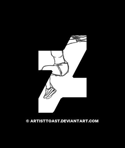 400x474 Jump Up! (Sketch) By Artisttoast