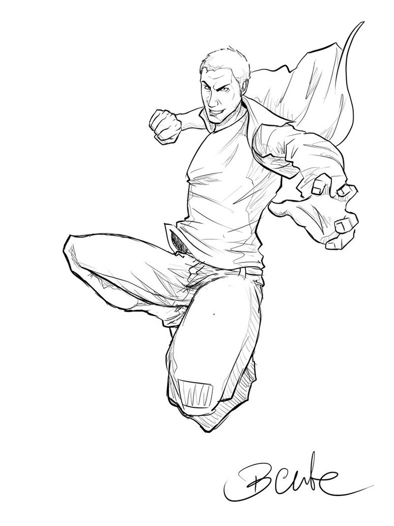 774x1032 Jump Sketch By Bentelicious